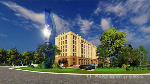 呼和浩特商业地产环境景观设计_金源邻里中心